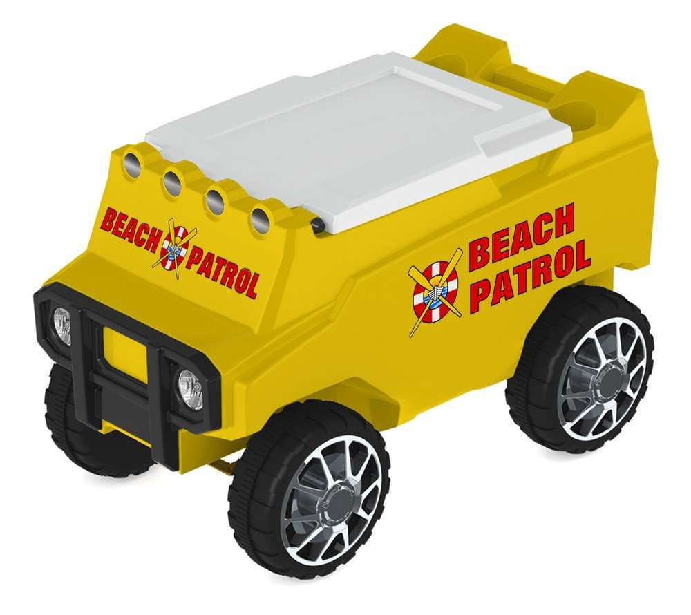 C3 Custom Coolers RC Cooler Beach Patrol