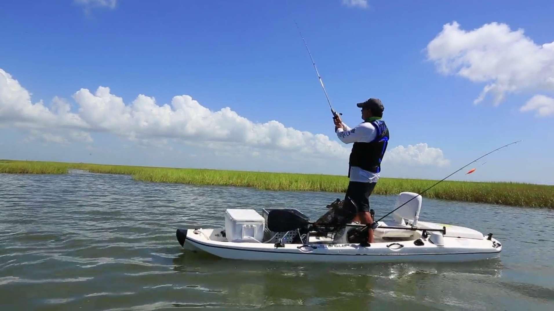 Jet Angler Jet Propelled Kayak Fishing
