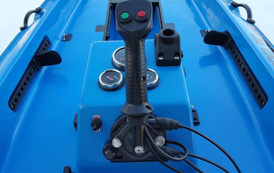 Jet Angler Jet Propelled Kayak Joystick Controls