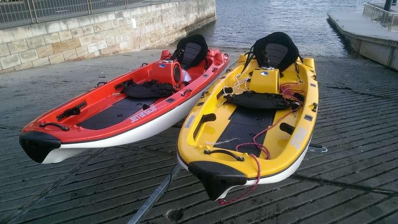 Jet Angler Jet Propelled Kayaks