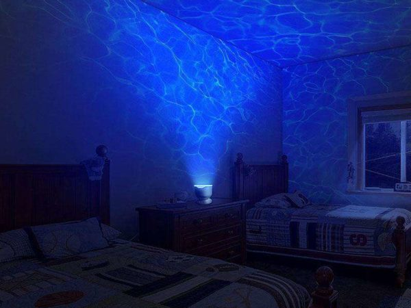 Ocean Wave Light Projector Blue