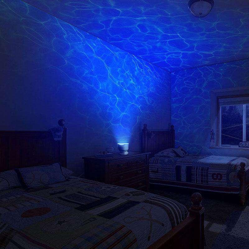 Ocean Wave Light Projector Blue