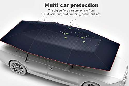 Automatic Remote Car Umbrella Tent 1