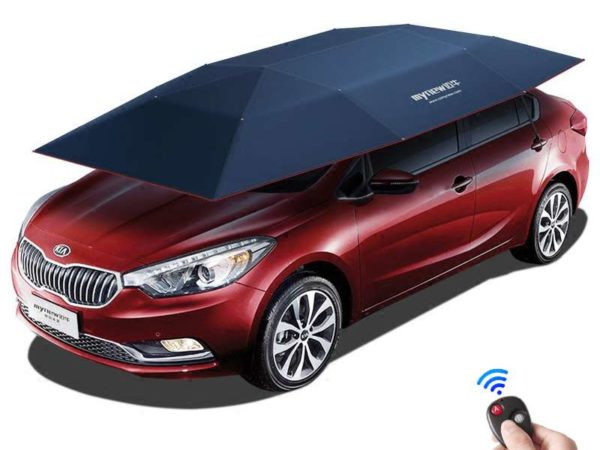 Automatic Remote Car Umbrella Tent 4