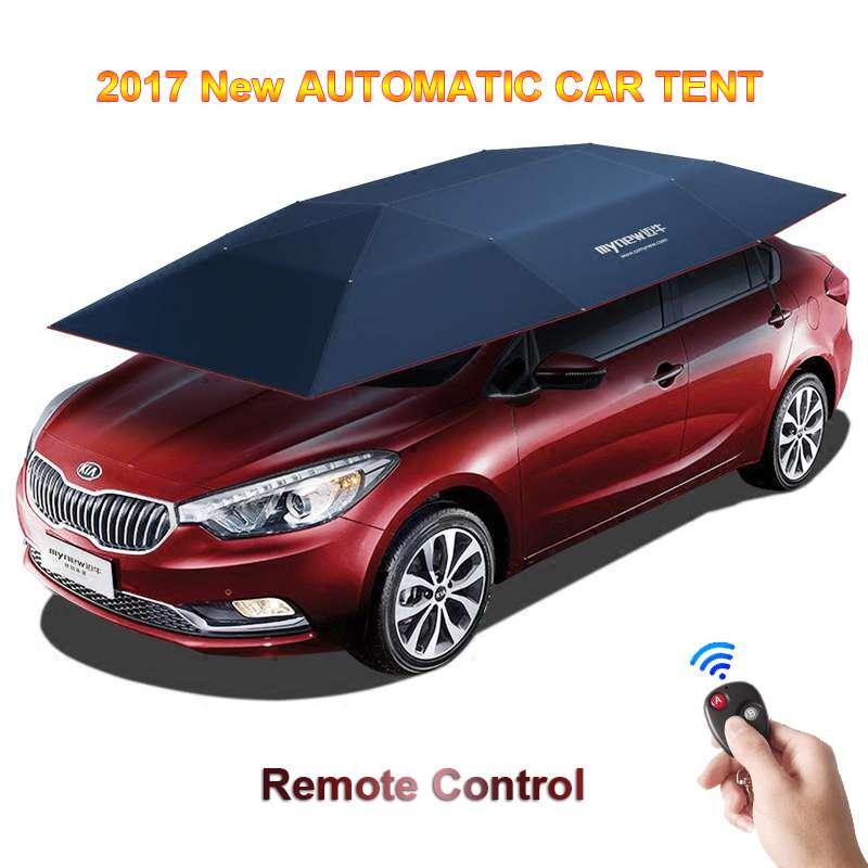Automatic Remote Car Umbrella Tent 4
