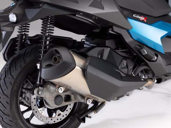 BMW C400X Scooter Exhaust