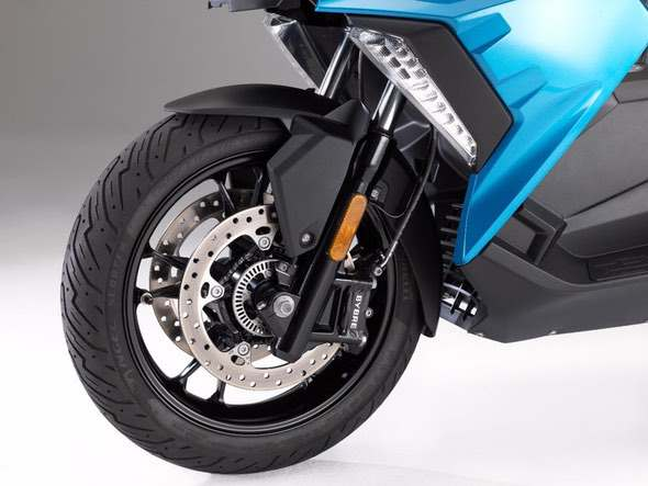 BMW C400X Scooter Front Brakes