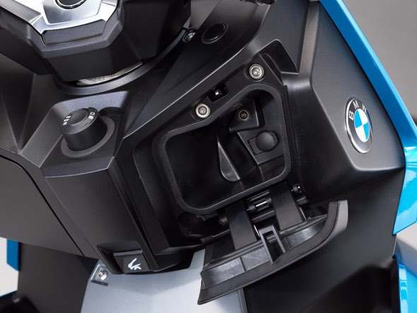 BMW C400X Scooter Front Storage