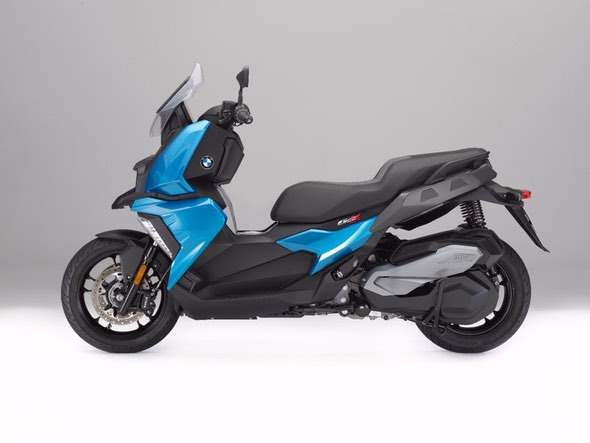 BMW C400X Scooter Side View