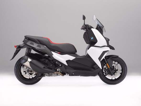 BMW C400X Scooter White