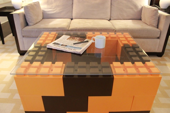 EverBlock Large Lego Blocks Tabled