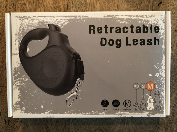 Peteast Retractable Dog Leash Box