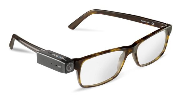 PogoCam Wearable Glasses Camera Spectacles