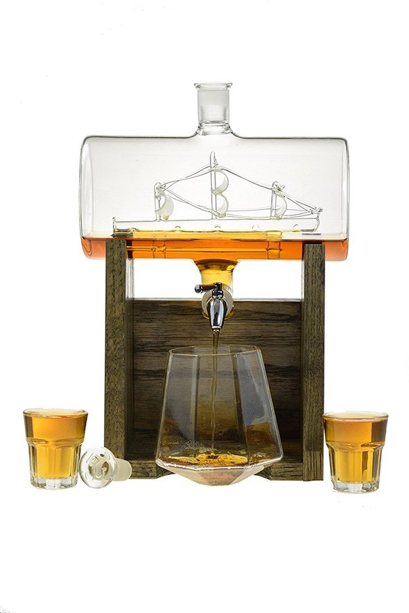Prestige Decanters Boat In Bottle