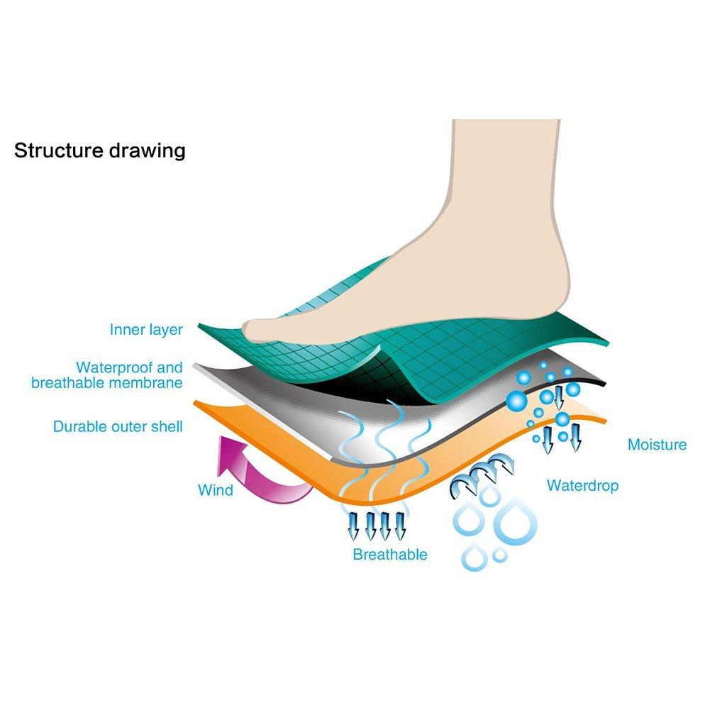 3 layer waterproof socks