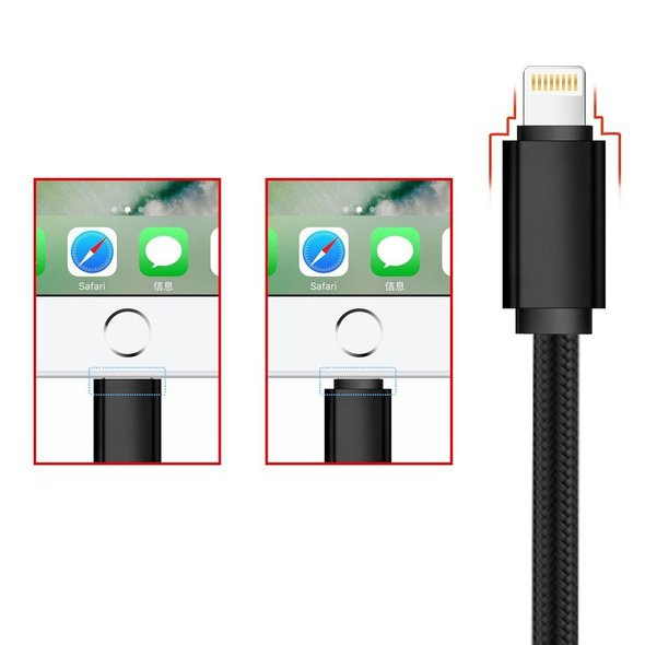 3-in-1 Lightning Micro USB USB Type C Charging Cable Apple