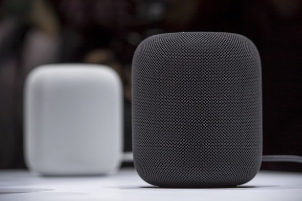 Apple HomePod Black and White