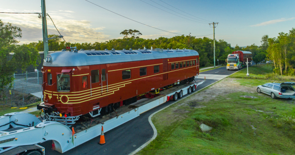 Byron Bay Fully Electric Solar Powered Train 2