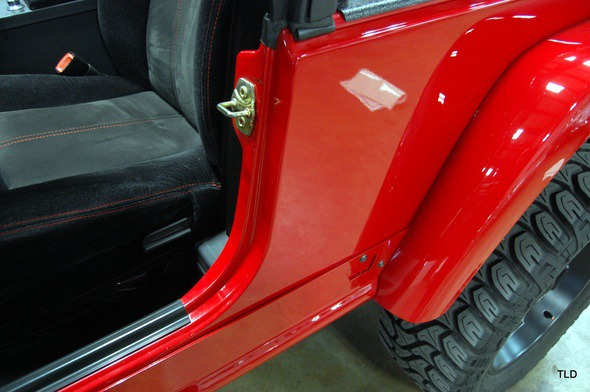 Dodge Viper V10 Jeep Wrangler Door