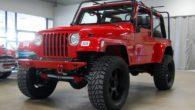 Dodge Viper V10 Jeep Wrangler Front Angle