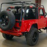Dodge Viper V10 Jeep Wrangler Rear Angle
