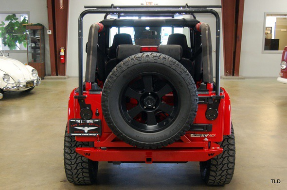 Jeep Wrangler With Dodge Viper V 10 Engine Swap