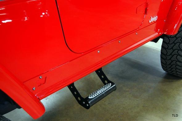 Dodge Viper V10 Jeep Wrangler Step