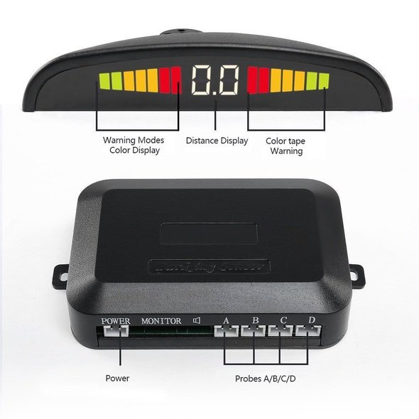 Pemenol Wireless Vehicle Backup Sensor System Control Unit