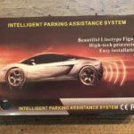 Pemenol Wireless Vehicle Backup Sensor System Retail Box