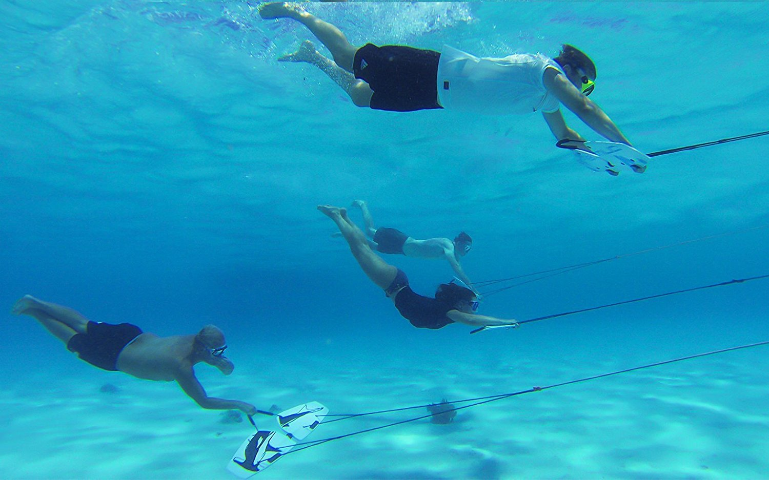 Subwing Underwater Flying Wing Four Users