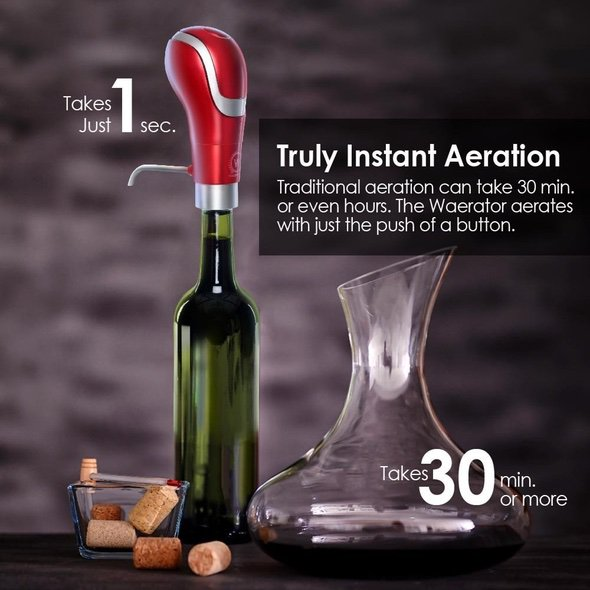 Waerator Electric Wine Pump Aerator 2