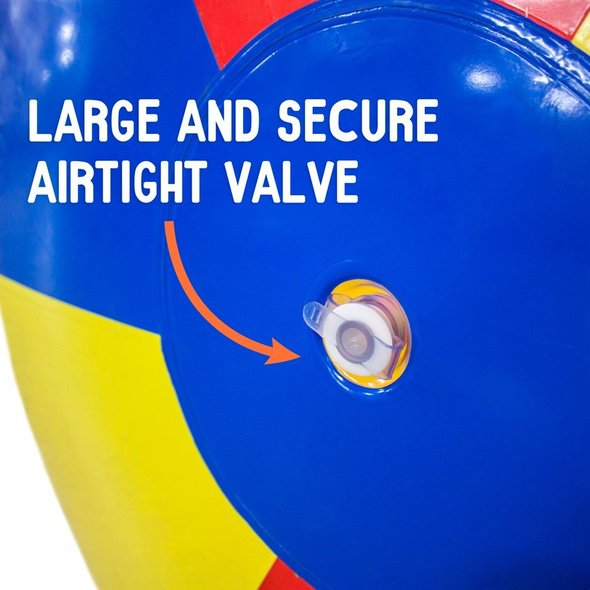 12-Foot Giant Beach Ball Air Valve