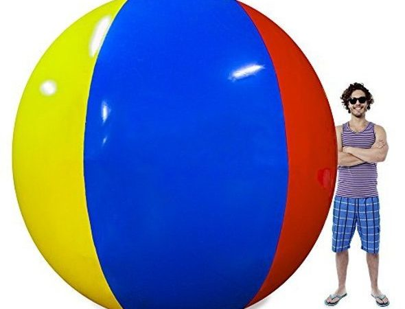 12-Foot Giant Beach Ball Scale