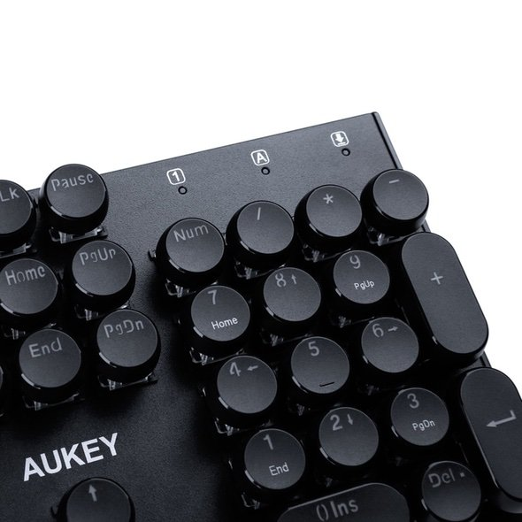 Aukey KM-G10 Mechanical Retro Keyboard Number Pad