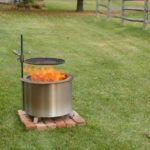 Breeo Smokeless Fire Pit Backyard