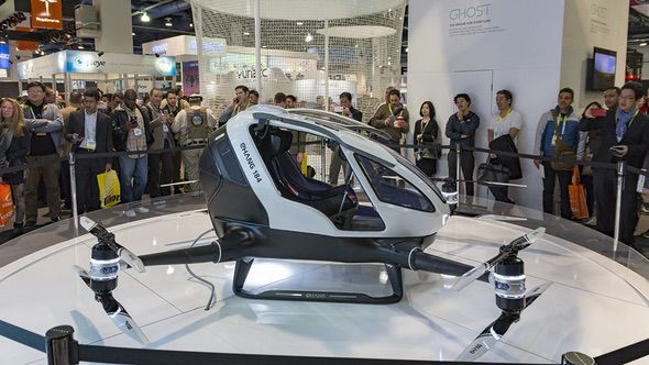 EHANG 184 Human Drone