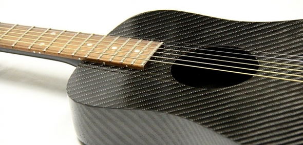 Klos Carbon Fiber Travel Guitar 1