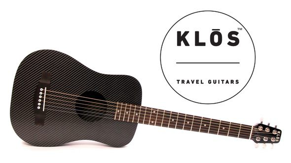 Klos Carbon Fiber Travel Guitar 2