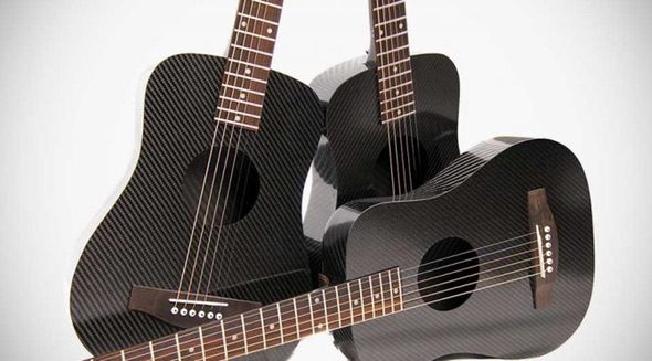 Klos Carbon Fiber Travel Guitar 3