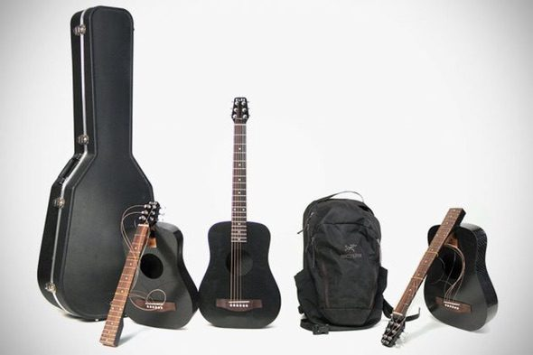 Klos Carbon Fiber Travel Guitar 6