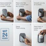 Sudski Bath and Shower Beer Holder Instructions