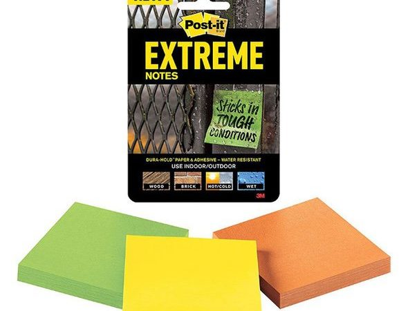 3M Extreme Post-It Notes 3-Pack