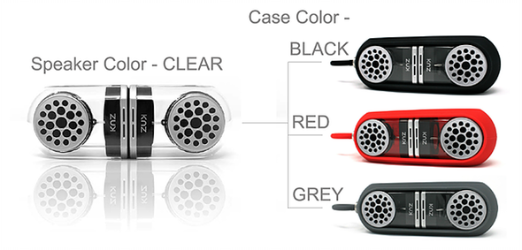 KNZ GoDuo Stereo Bluetooth Magnetic Speakers Colors