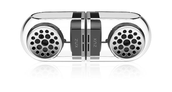 KNZ GoDuo Stereo Bluetooth Magnetic Speakers Connected