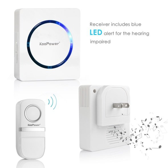 Koopower No Battery Wireless Doorbell 6