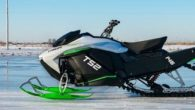 Taiga TS2 Electric Snowmobile Side View
