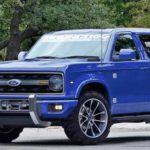 2020 Ford Bronco Blue