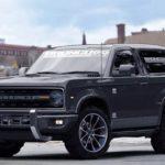 2020 Ford Bronco Grey