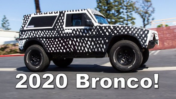 2020 Ford Bronco?