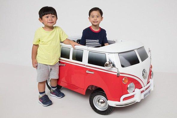 Beyond Infinity Volkswagen VW T1 Bus Van Kid Standing